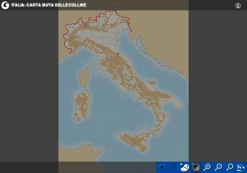 Esercizi Cartina Muta Italia.Geografia La Collina